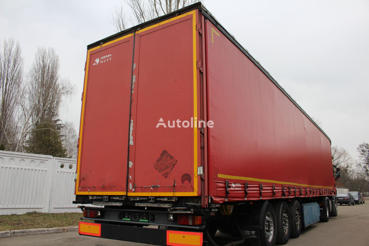 KÖGEL S 24 curtain side semi-trailer