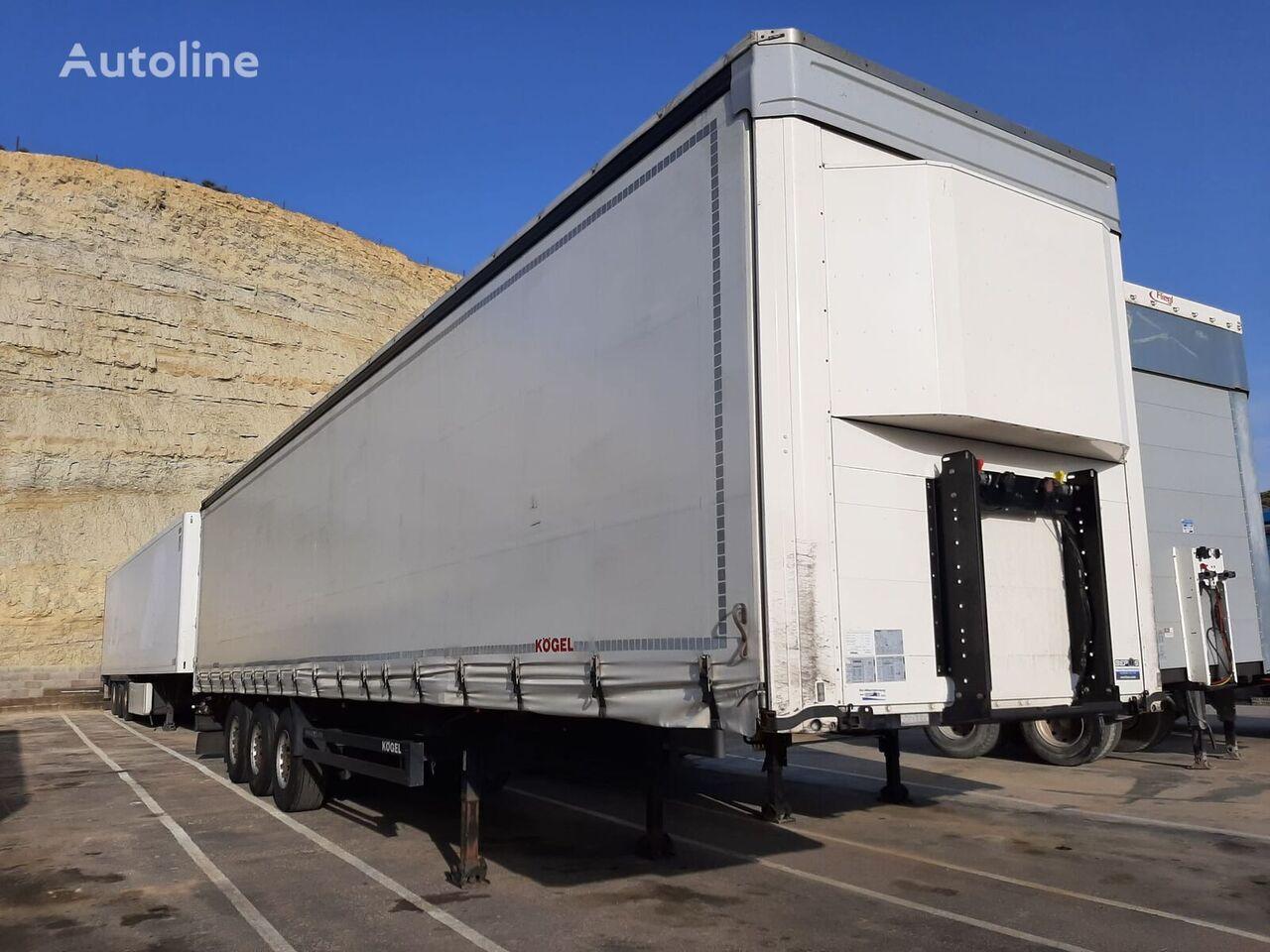 KÖGEL S24-1. SEMIRREMOLQUE TAUTLINER curtain side semi-trailer