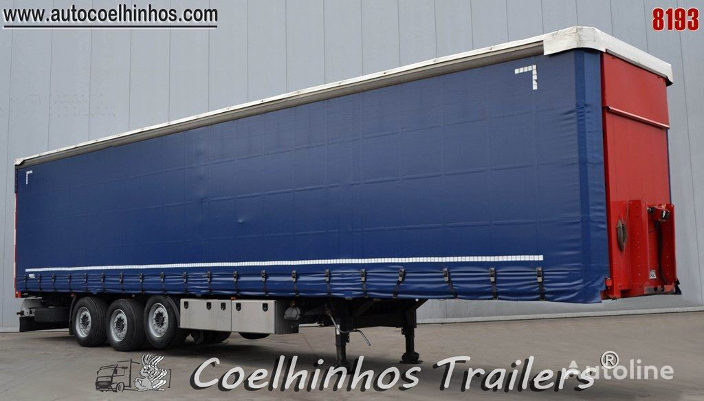 KÖGEL SFHB24 P100 curtain side semi-trailer