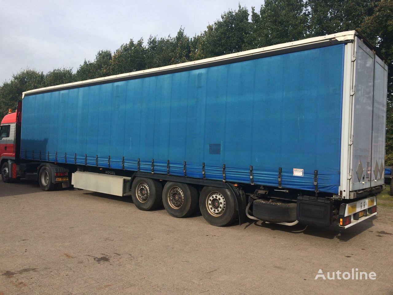 KÖGEL SN-24 curtain side semi-trailer
