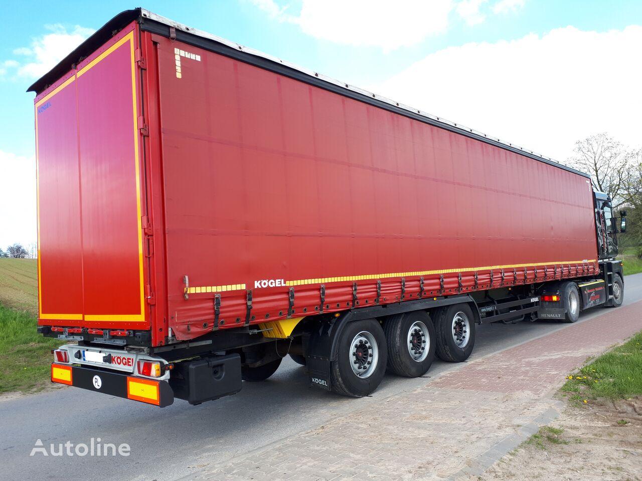 KÖGEL STANDARD  PODNOSZONY DACH 315/22,5/65 curtain side semi-trailer
