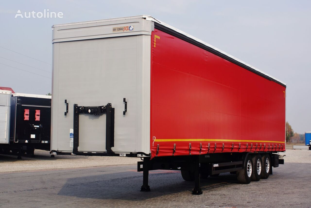 KÖGEL STANDARD SAF DISC MULTILOCK *2013* New tarpaulins curtain side semi-trailer