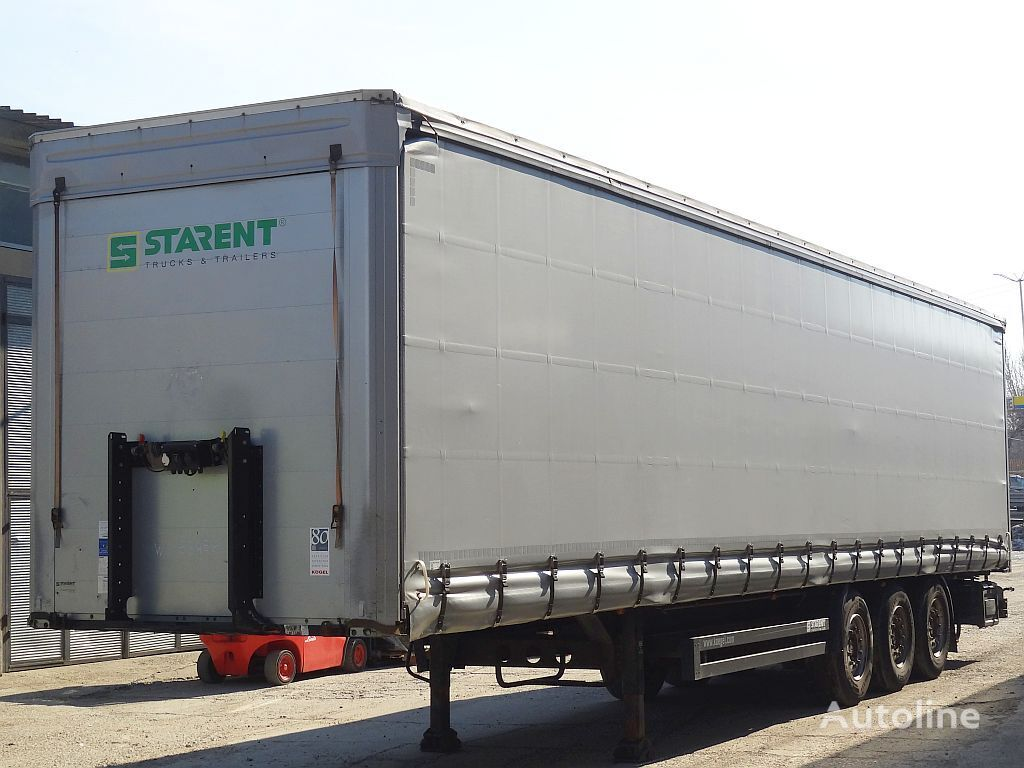 KÖGEL XL zertifikat curtain side semi-trailer