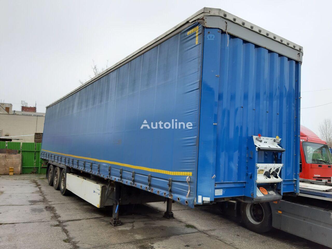 KRONE curtain side semi-trailer