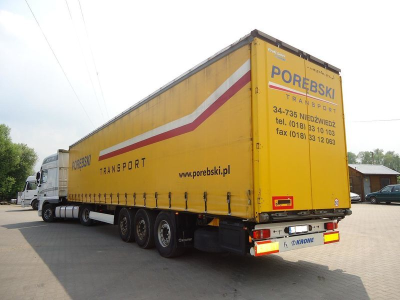 KRONE curtain side semi-trailer