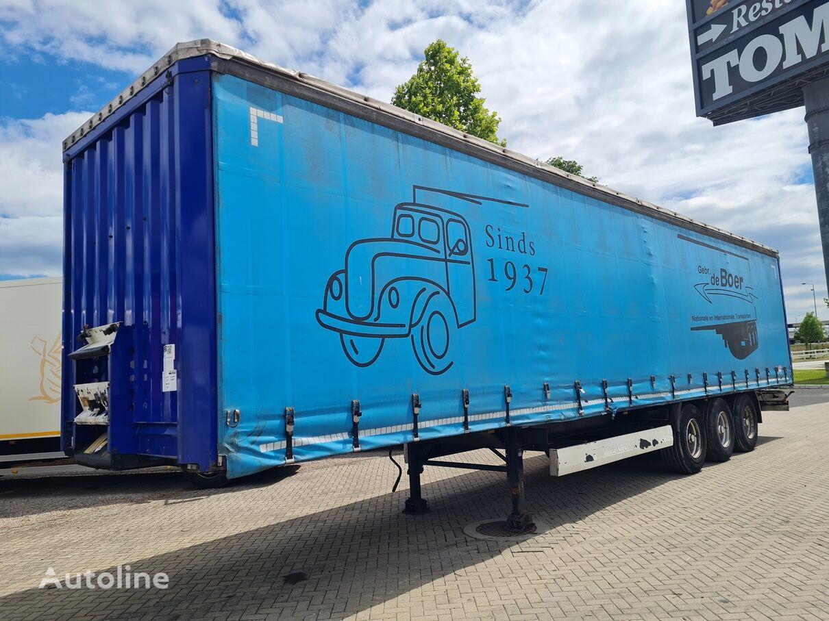 KRONE 2.80m / NL brif curtain side semi-trailer