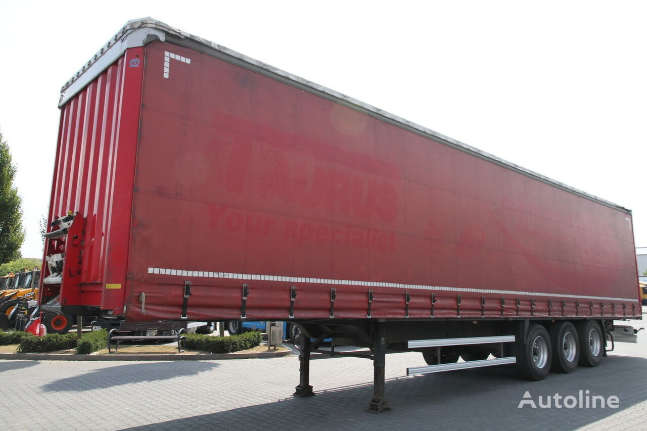 KRONE COIL MULDA SDP27 FLOOR WITH A GUTTER FOR STEEL CIRCLES  curtain side semi-trailer