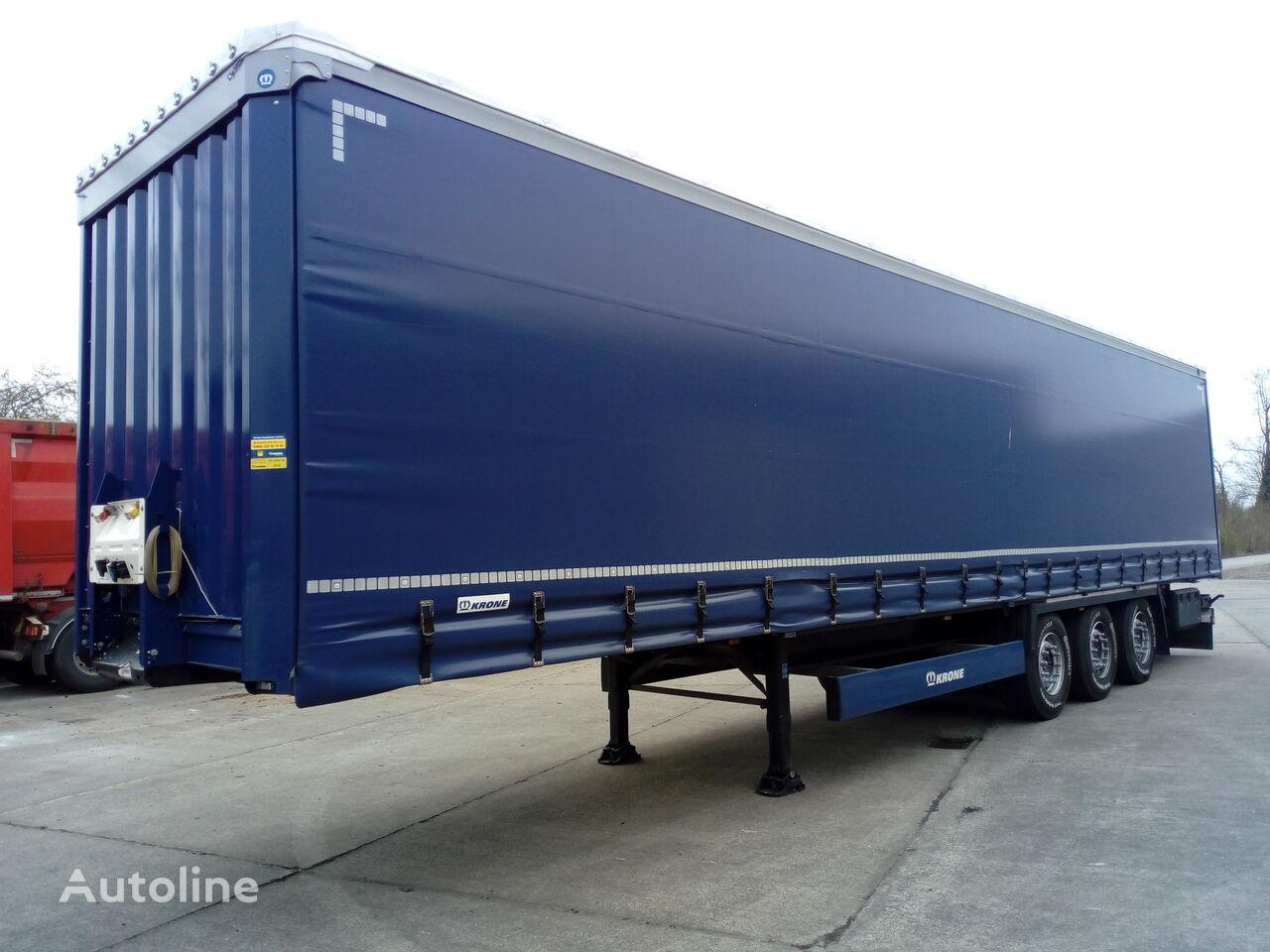 KRONE Curtainsider Coil curtain side semi-trailer