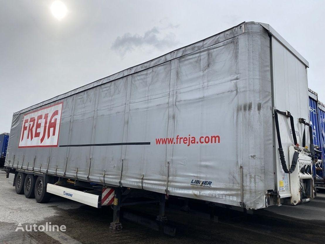 KRONE Krone/Libner curtain side semi-trailer