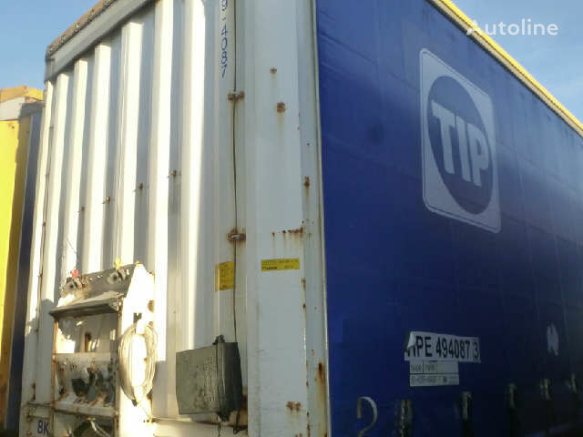 KRONE Profi Liner curtain side semi-trailer