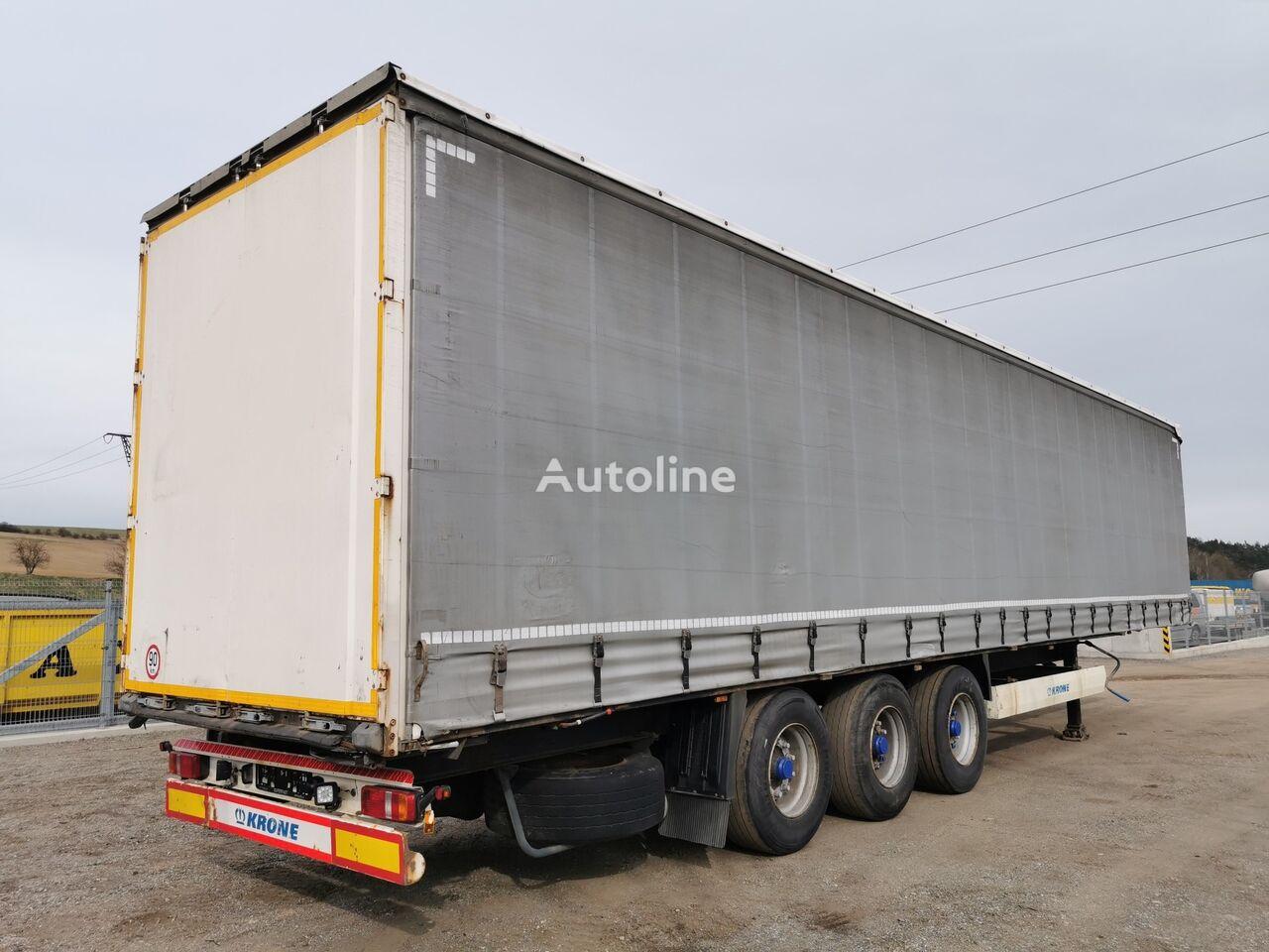 KRONE SD  curtain side semi-trailer