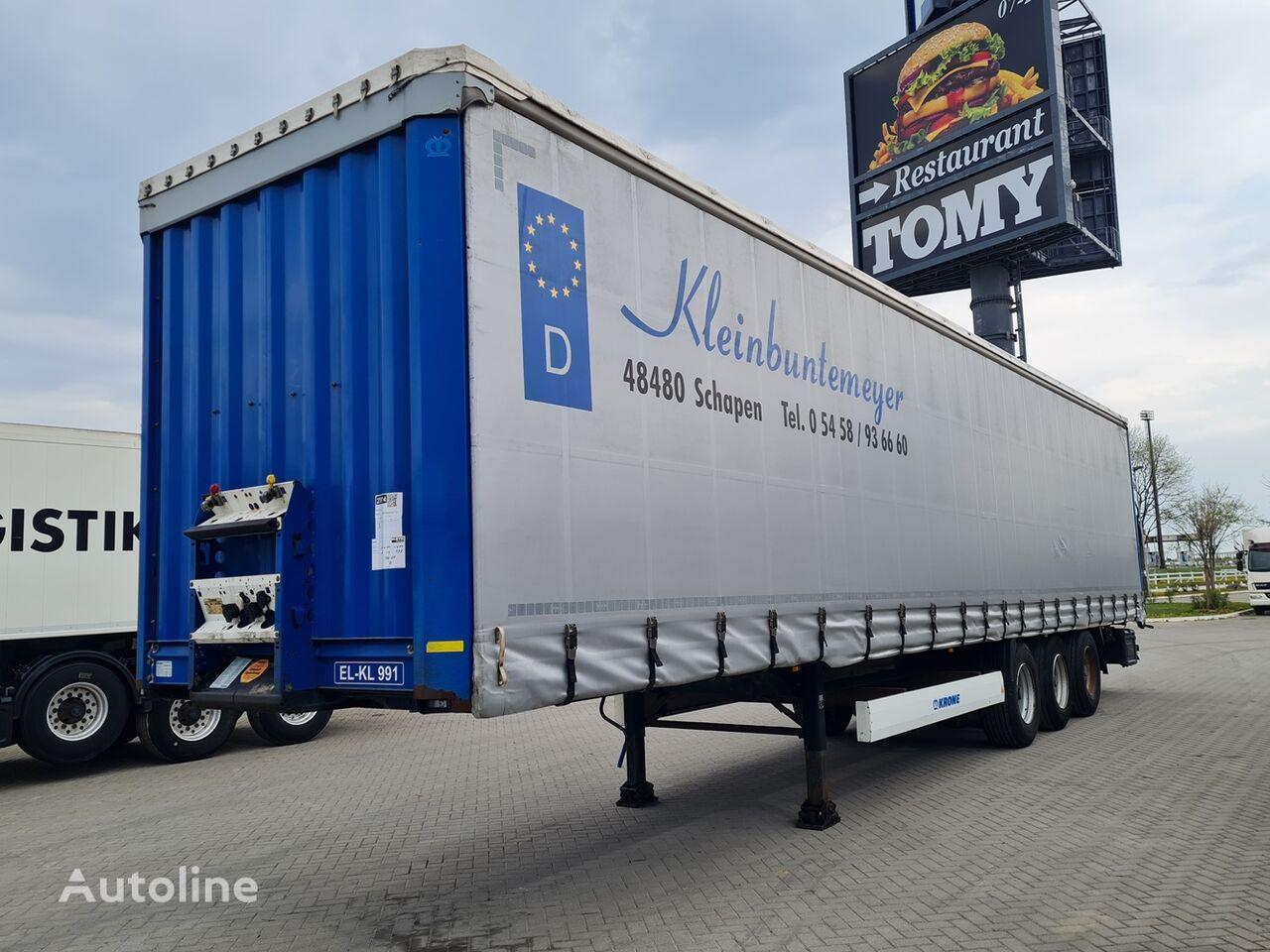 KRONE SD / 2.80m / STRANICE / DE brif curtain side semi-trailer