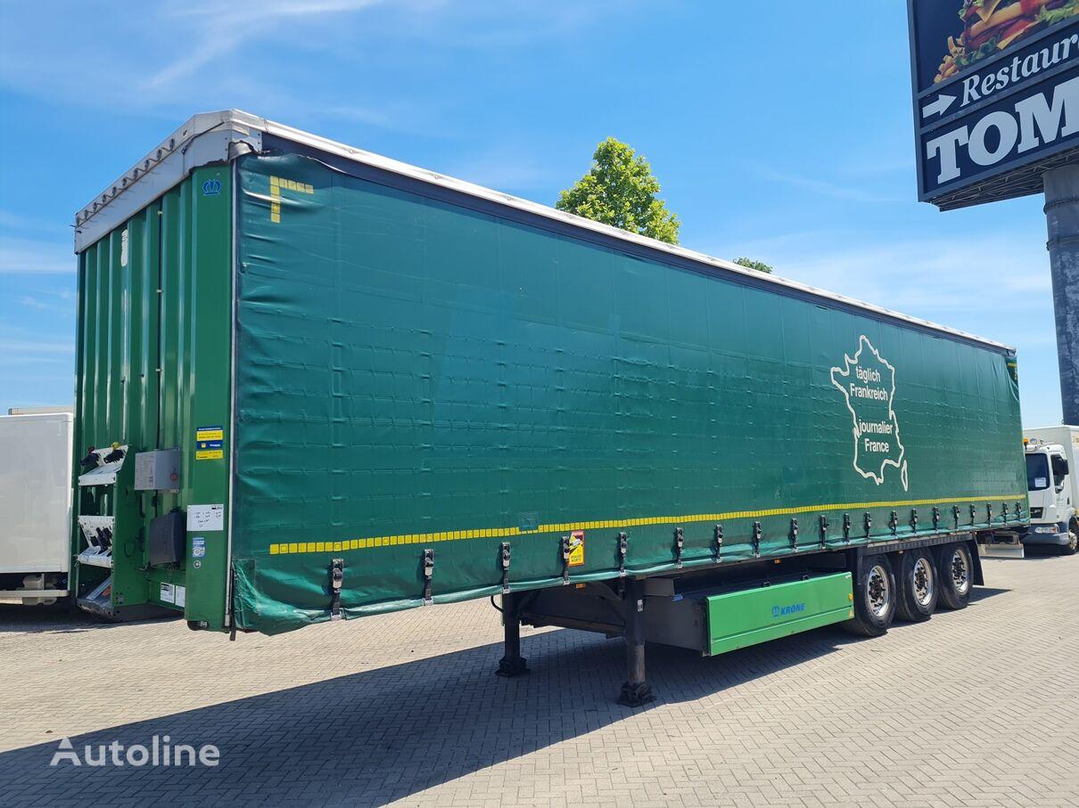 KRONE SD / D BRIF curtain side semi-trailer