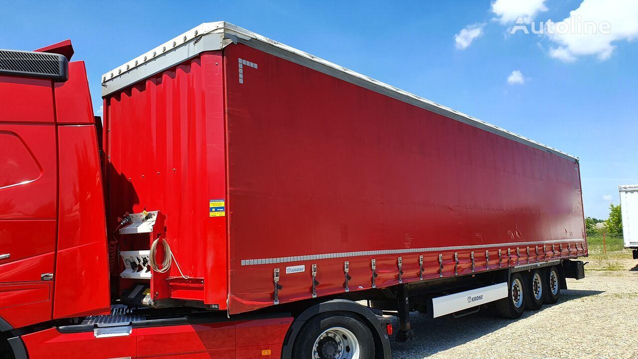 KRONE SD / DOPPELSTOCK / SAF / XL /  curtain side semi-trailer