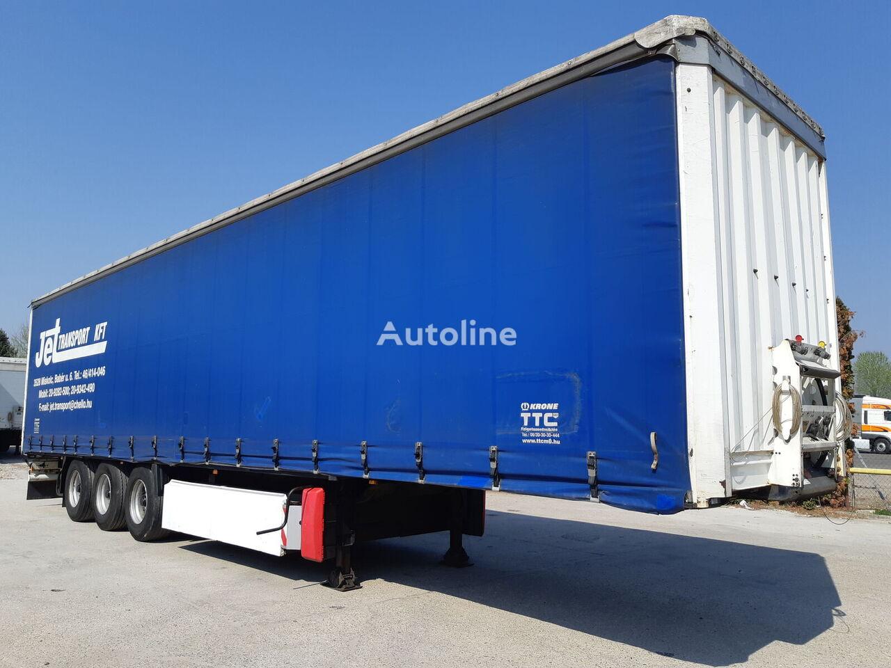 KRONE SD Palettenkasten   curtain side semi-trailer