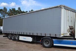KRONE SDP 27  SAF AXLE curtain side semi-trailer