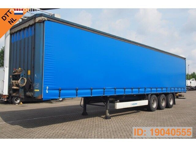 KRONE SDP27 Profi Liner Edscha XL Code *7 units available curtain side semi-trailer