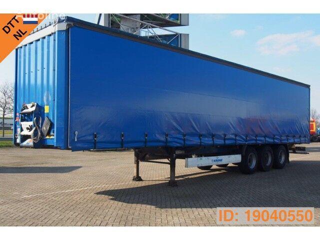 KRONE SDP27 Profi Liner, Rong Posts, Huckepack, Ferry hooks curtain side semi-trailer