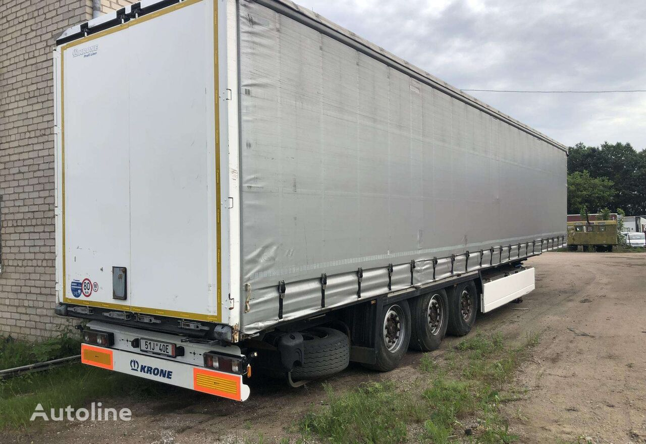 KRONE SPR 27, trailer and semi trailer rental curtain side semi-trailer