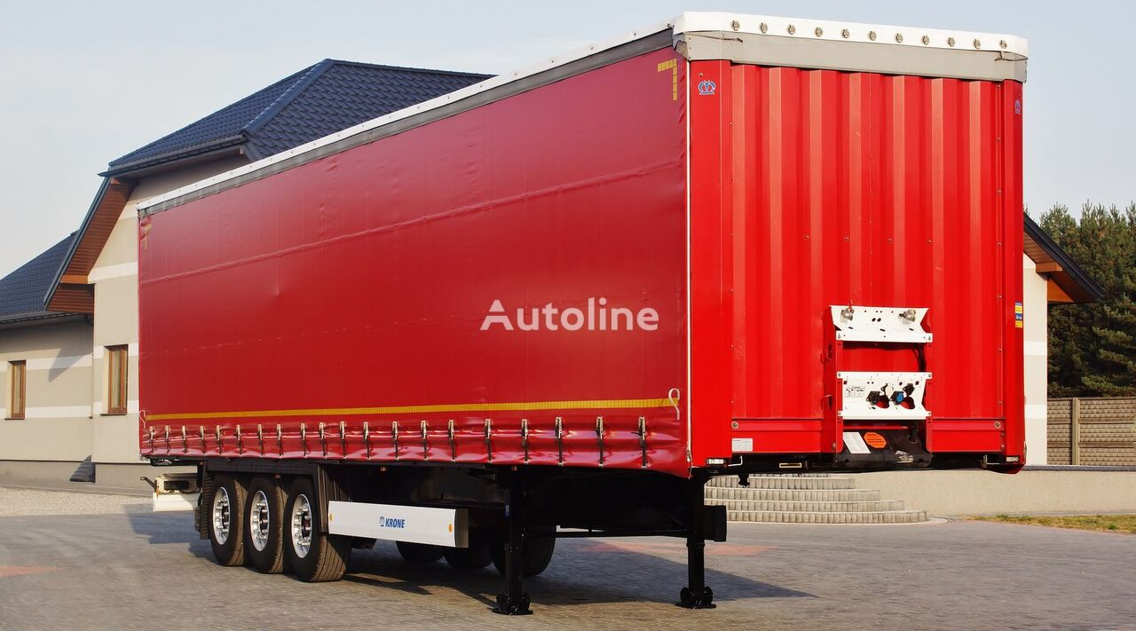 KRONE STANDARD COIL MULDE 9M MULTILOCK SAF * 2014 *  curtain side semi-trailer