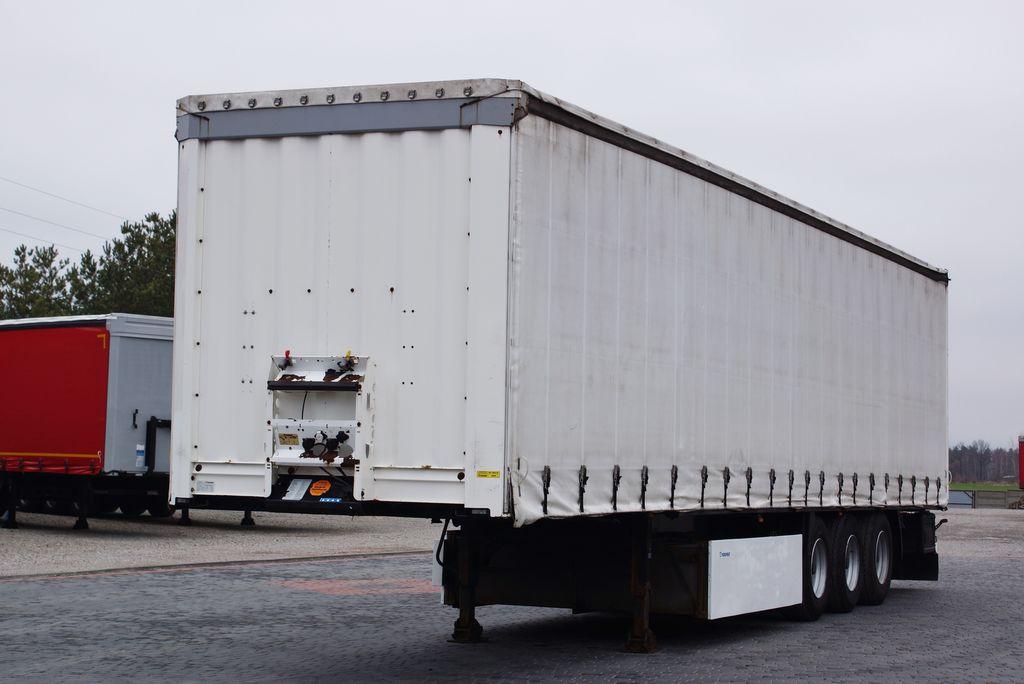KRONE STANDARD / DISC / LIFT AXE / PERFECT  curtain side semi-trailer