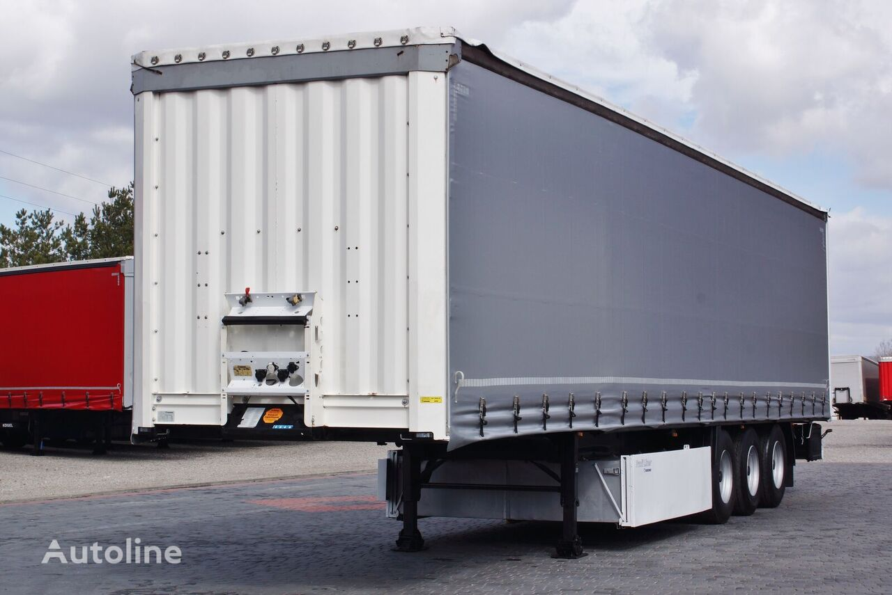 KRONE STANDARD / DISC / LIFT AXE / PERFECT  curtain side semi-trailer
