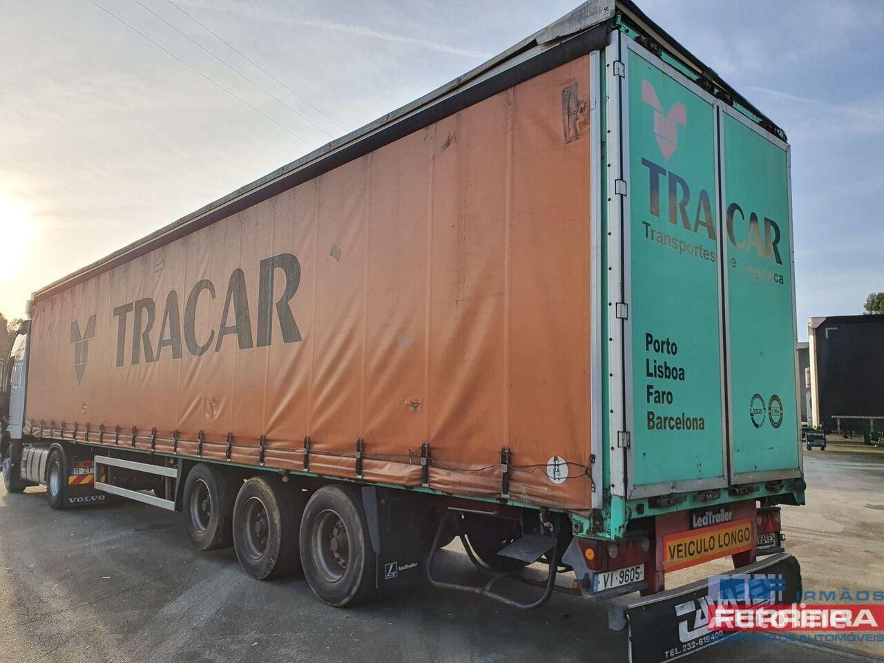 LECI TRAILER P 35  curtain side semi-trailer
