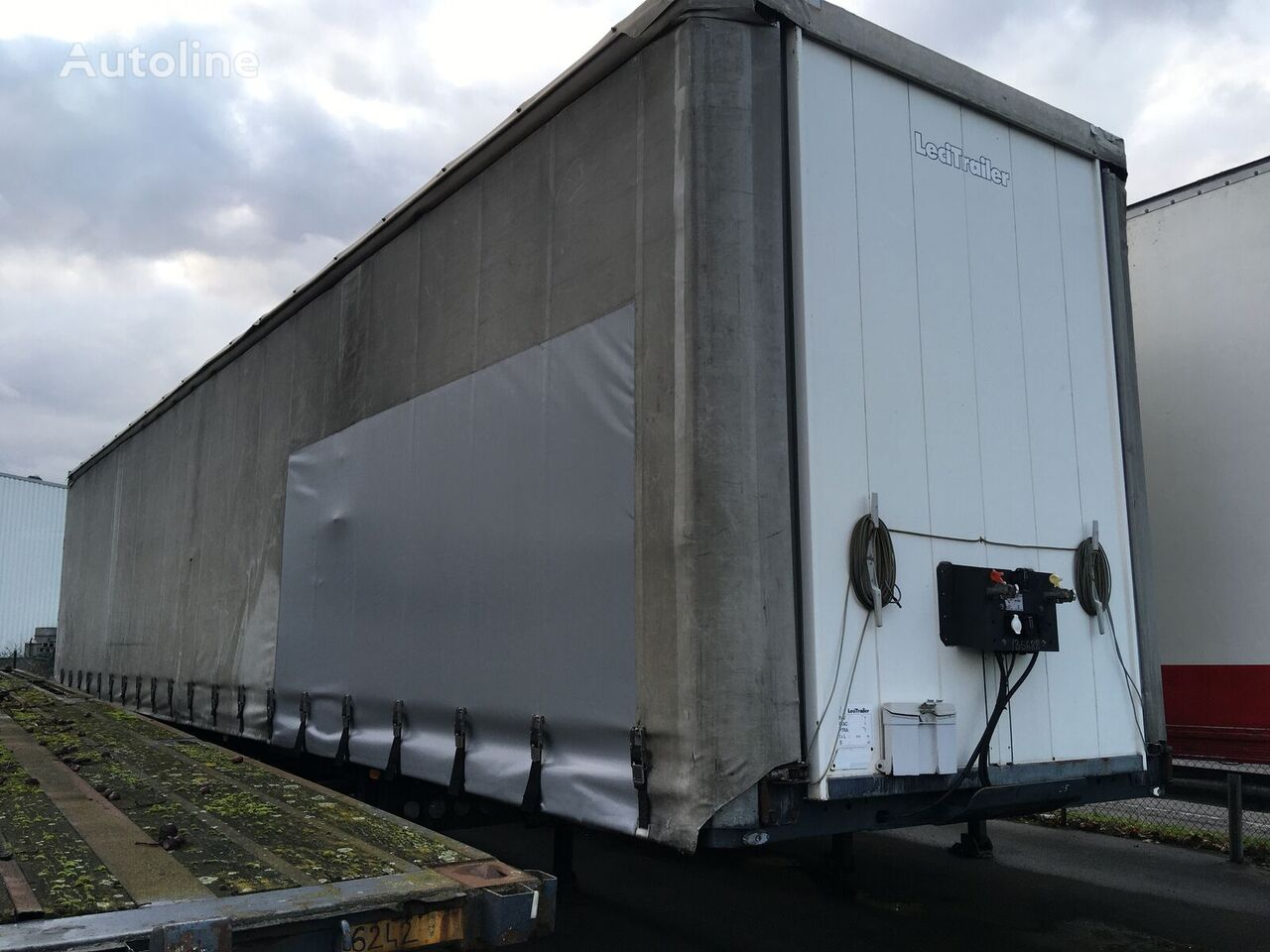 LECI TRAILER TAUTLINER curtain side semi-trailer