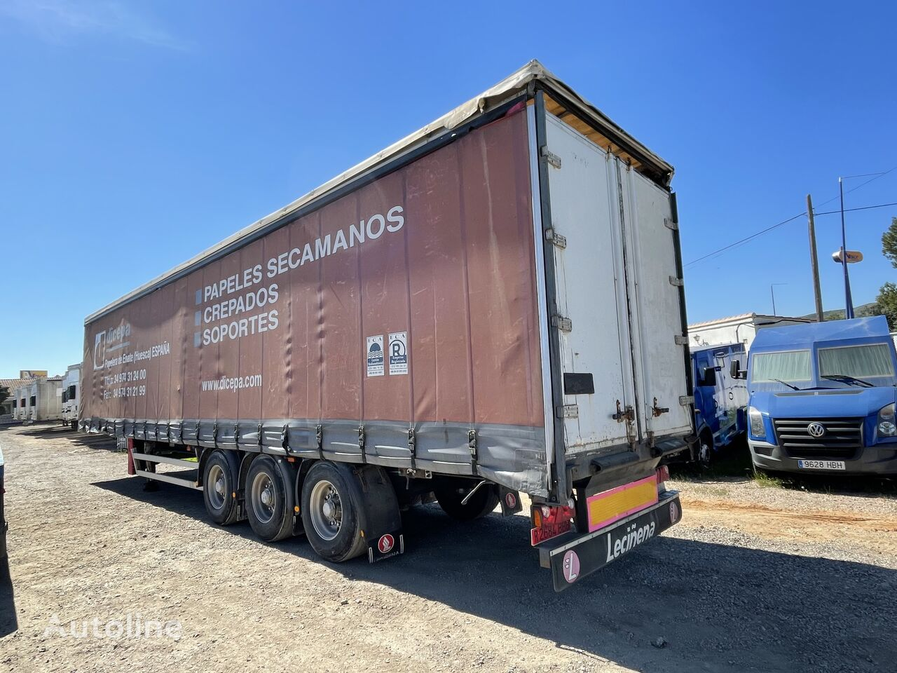 LECINENA Tauliner  curtain side semi-trailer