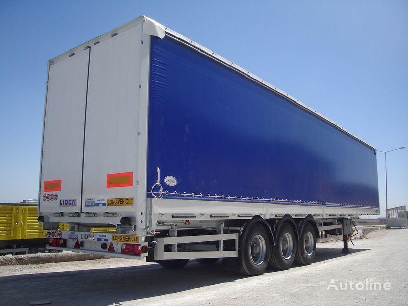 new LIDER Lıder 2021 MODELS NEW LIDER TRAILER MANUFACTURER COMPANY  curtain side semi-trailer