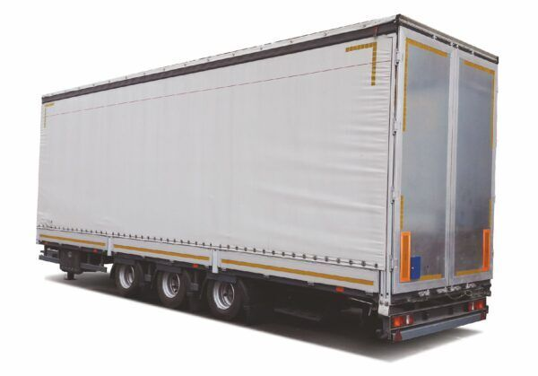 new MAZ 837320-3015 curtain side semi-trailer