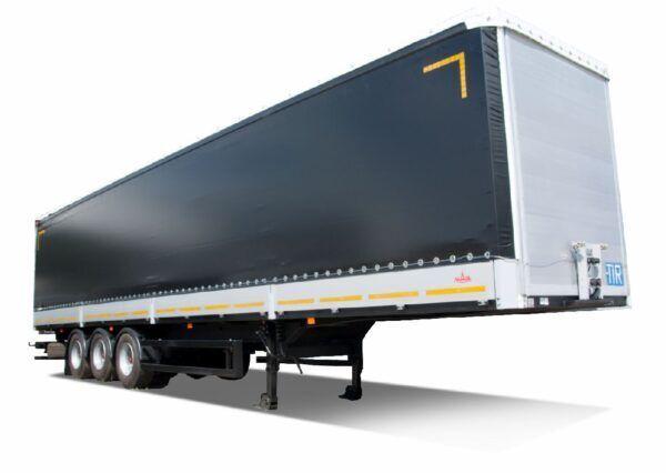 new MAZ 975830-3025-000 curtain side semi-trailer