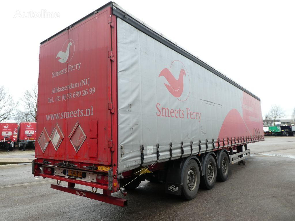PACTON 5 available, TUV, 2015, disc brakes curtain side semi-trailer