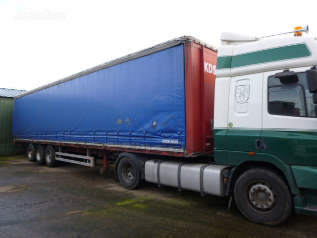 PACTON Met Borden curtain side semi-trailer