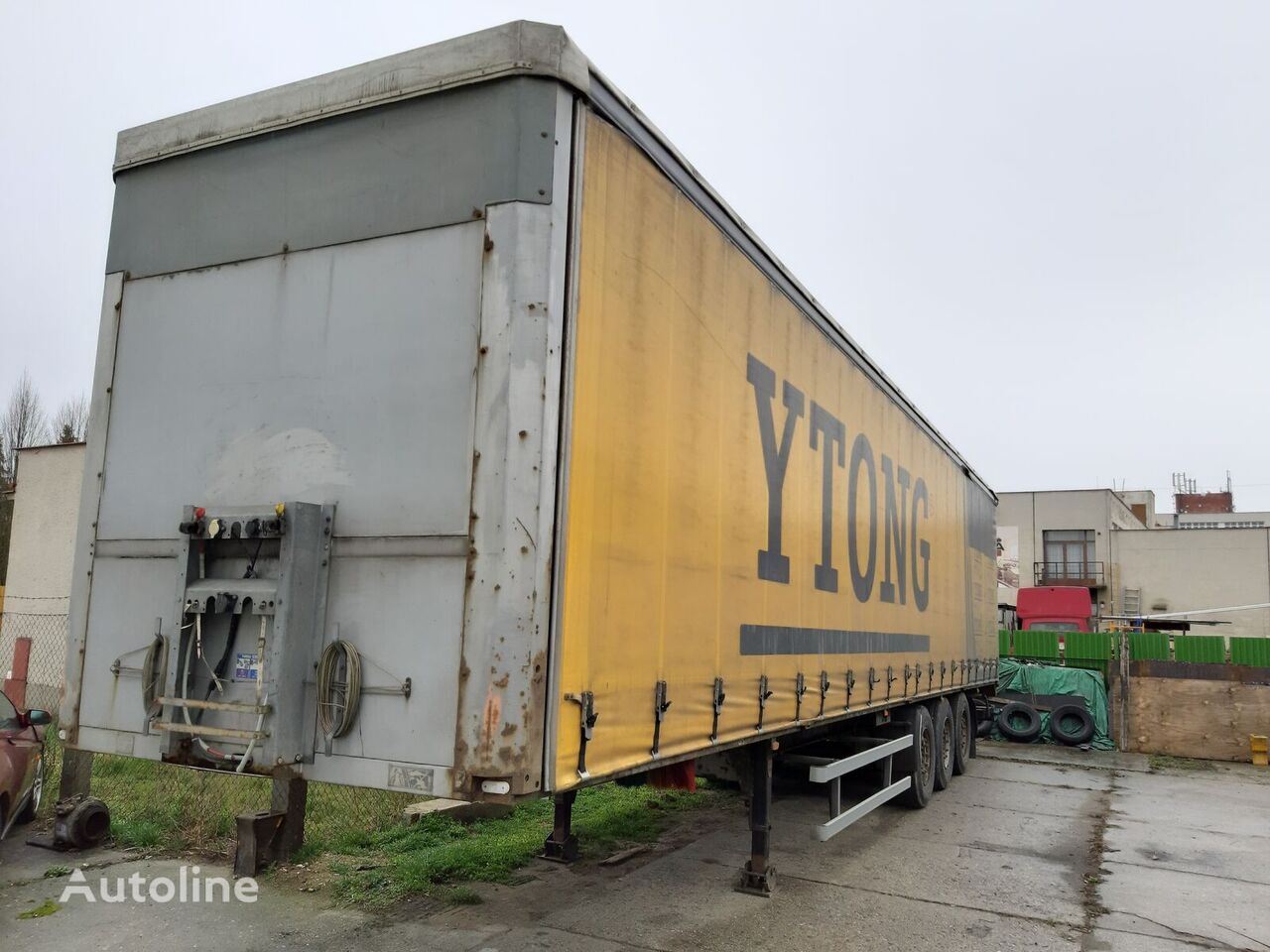 PANAV NV 35 PK curtain side semi-trailer