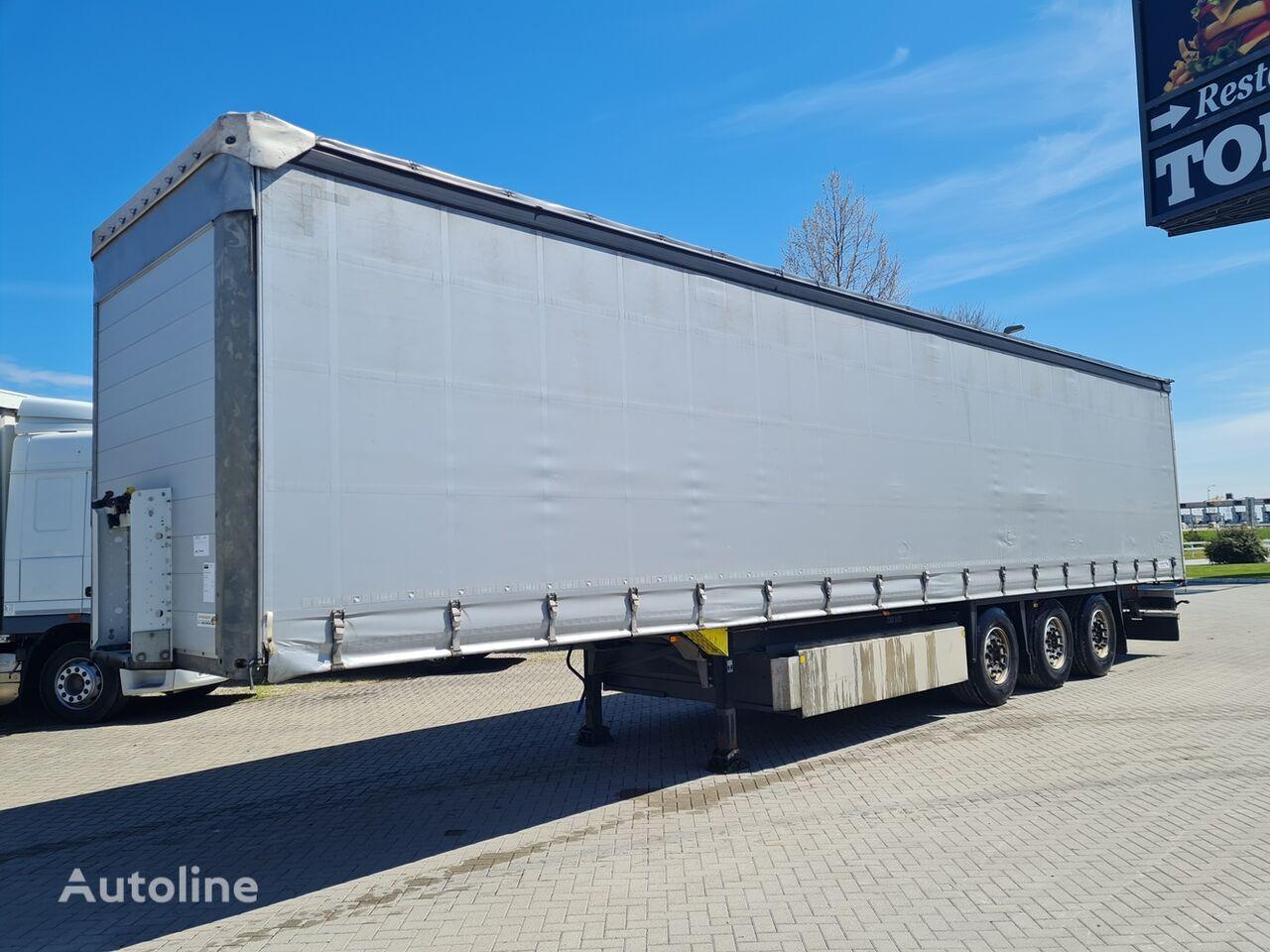 SCHMITZ CARGOBULL 2.80m / COIL / EU brif curtain side semi-trailer