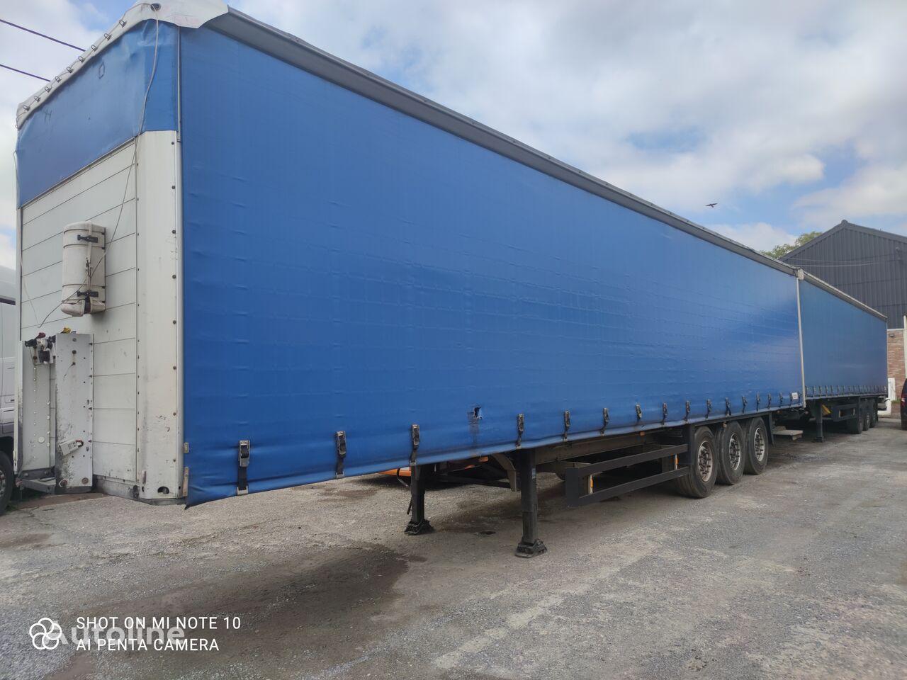 SCHMITZ CARGOBULL 2X En Stock curtain side semi-trailer