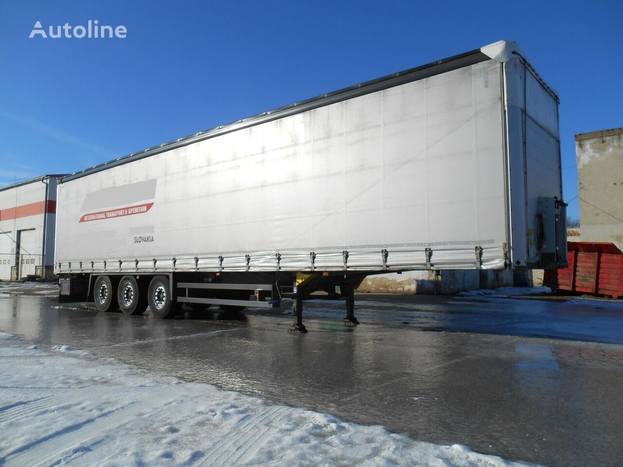 SCHMITZ CARGOBULL COIL MULDE 9m XL CERTIFICATE  SAF AXLE curtain side semi-trailer