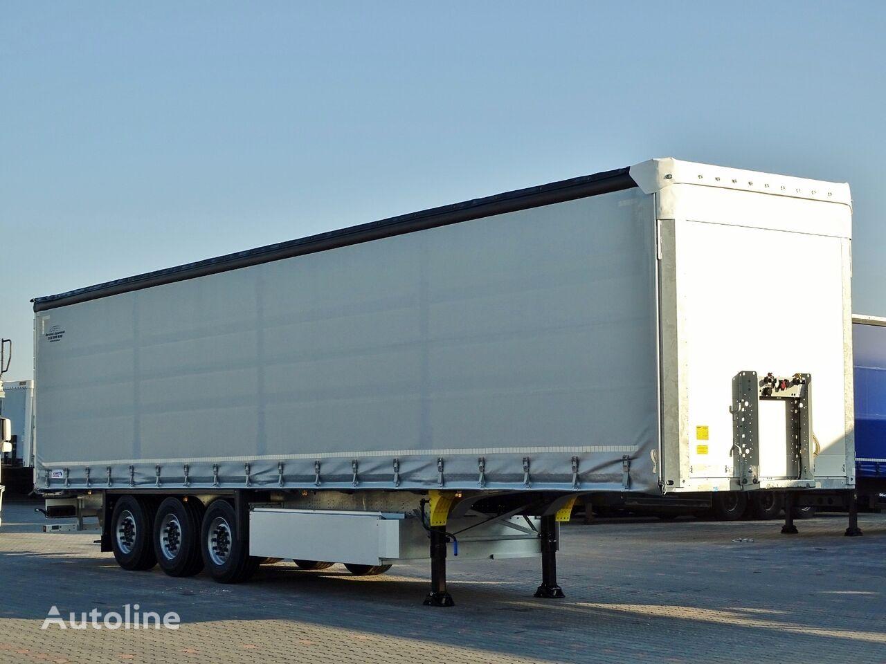 SCHMITZ CARGOBULL CURTAINSIDER / STANDARD / LIFTED AXLE / PALLET BOX / 11.2020 / curtain side semi-trailer