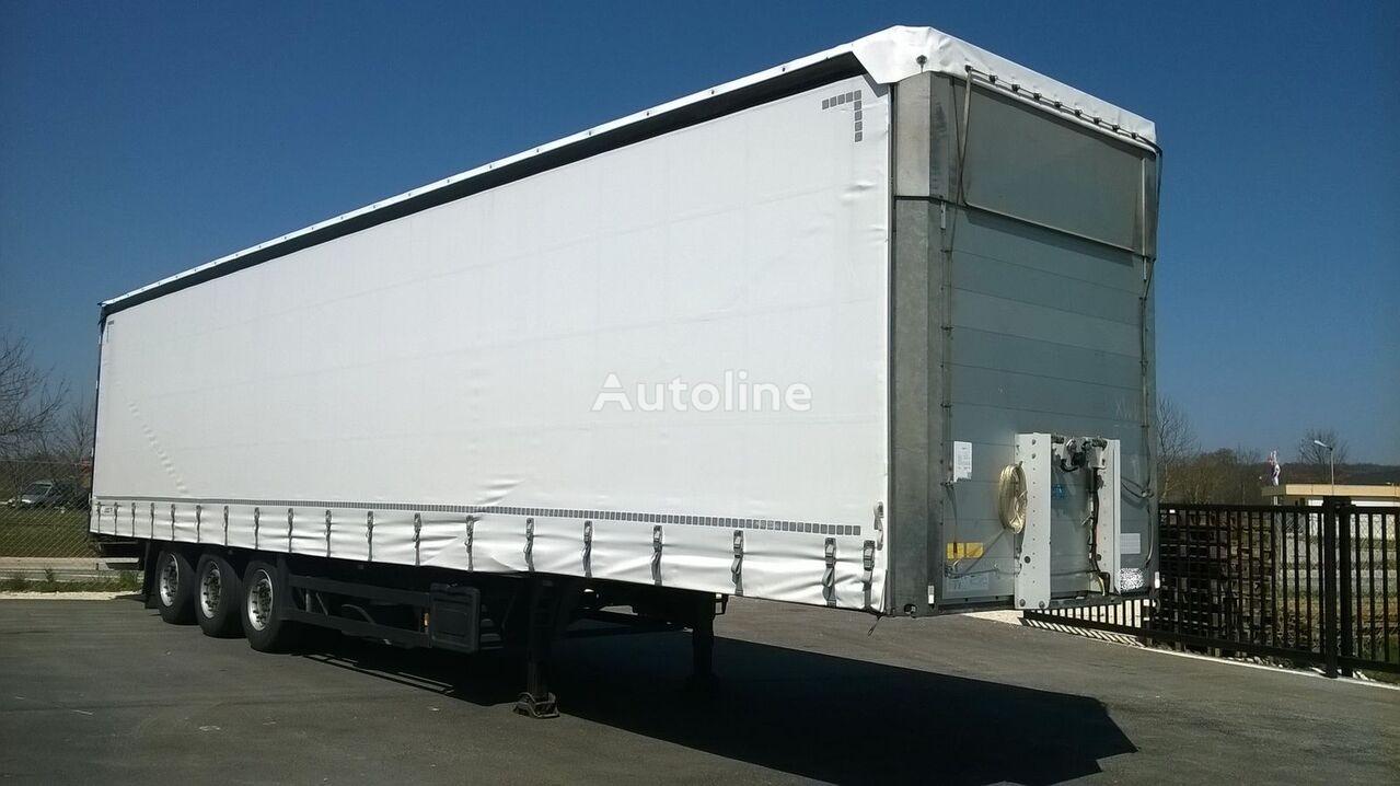 SCHMITZ CARGOBULL S 01-Varios curtain side semi-trailer