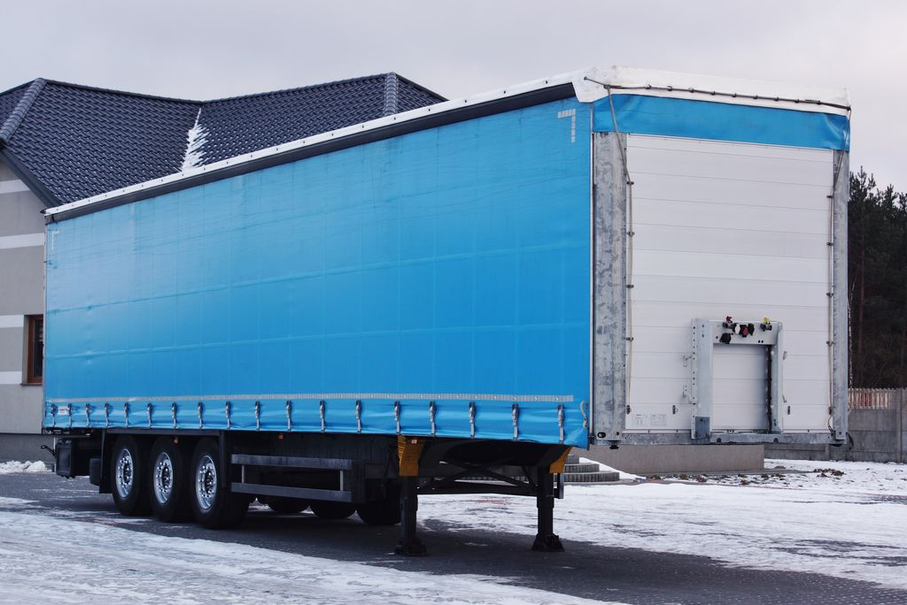 SCHMITZ CARGOBULL S01 STANDARD LIFT AXE  PERFECT 2015.11  curtain side semi-trailer