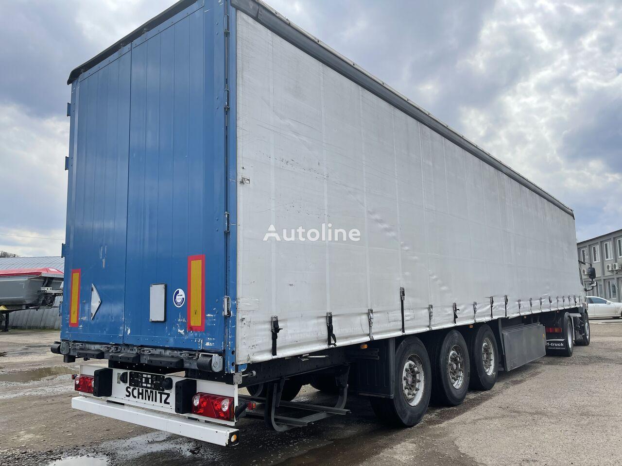 SCHMITZ CARGOBULL SAF curtain side semi-trailer