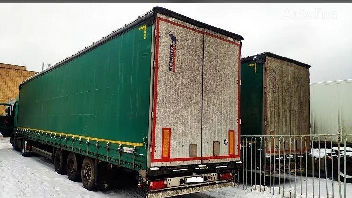 SCHMITZ CARGOBULL SCS curtain side semi-trailer