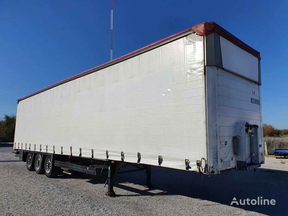 SCHMITZ CARGOBULL SCS SCS 24/L curtain side semi-trailer
