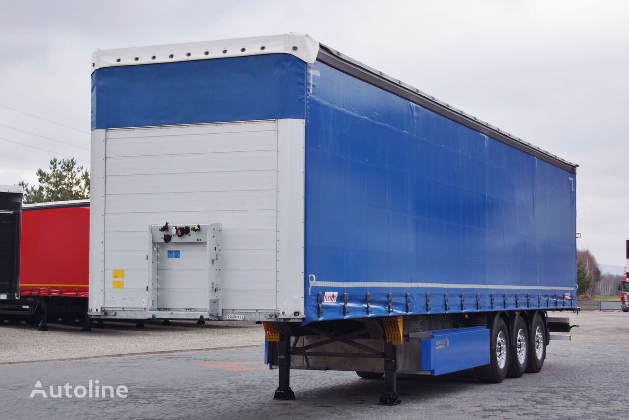 SCHMITZ CARGOBULL STANDARD  curtain side semi-trailer