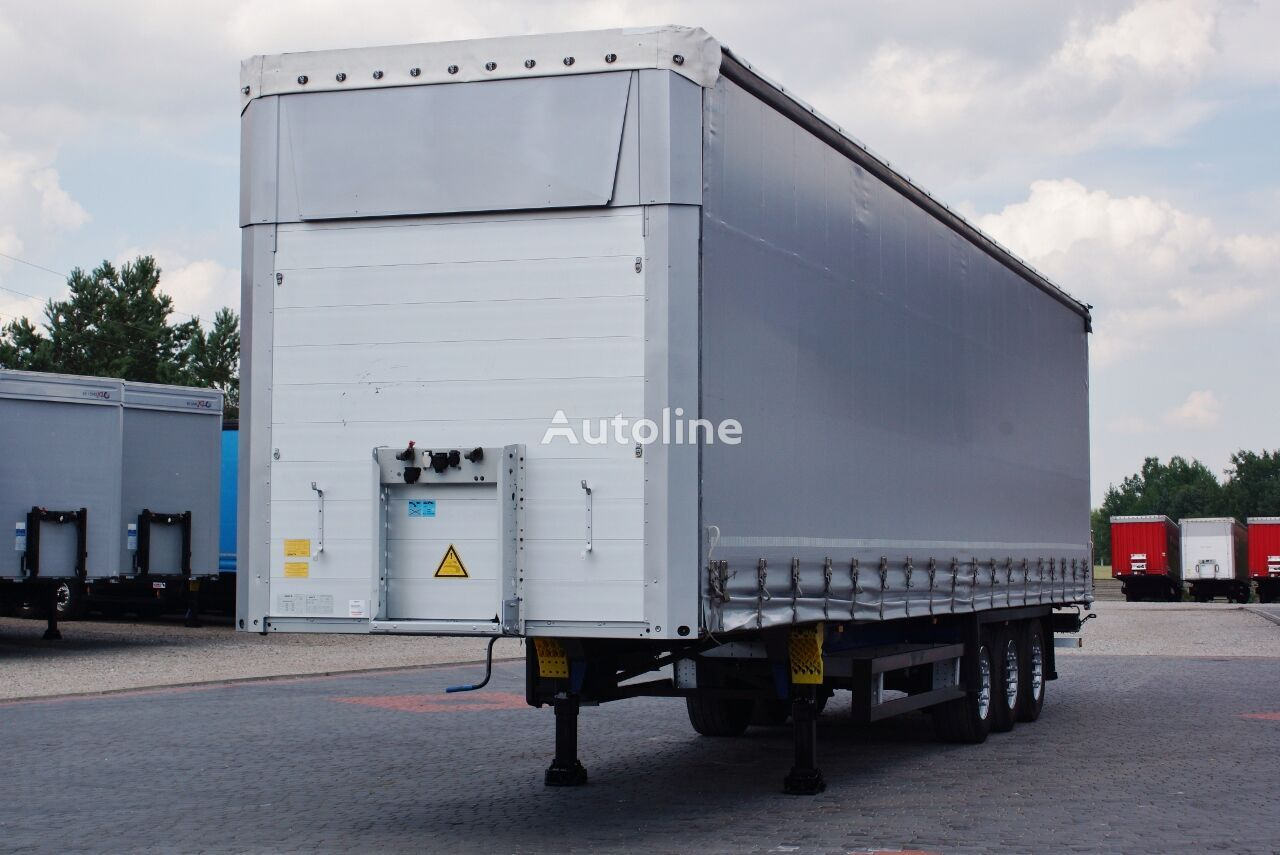 SCHMITZ CARGOBULL VARIOS /MEGA / SAF / MULTILOCK * 2012 * curtain side semi-trailer