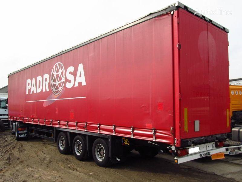 SCHMITZ FIRANKA MEGA 100m3 *530.000km* SUPER STAN curtain side semi-trailer