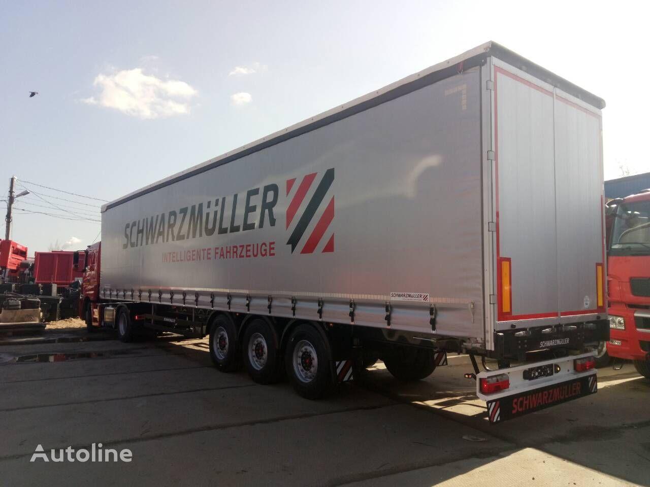 new SCHWARZMÜLLER RH125 curtain side semi-trailer