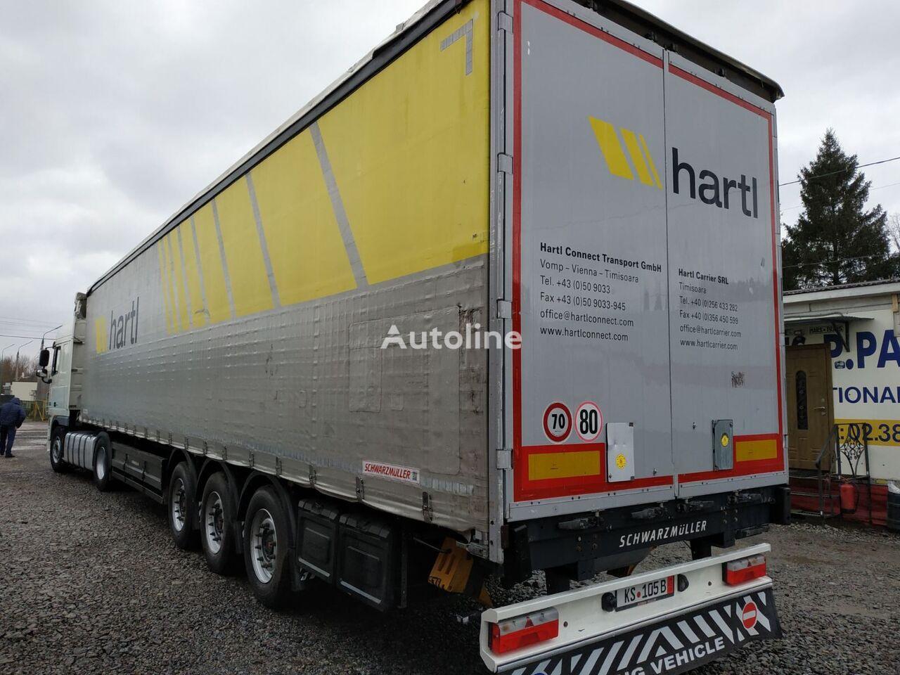 SCHWARZMÜLLER SAF curtain side semi-trailer