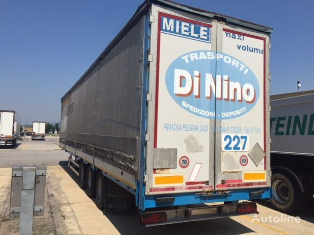 SEMIRIMORCHIO MIELE curtain side semi-trailer